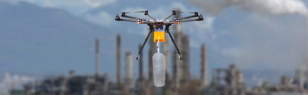 dron latający